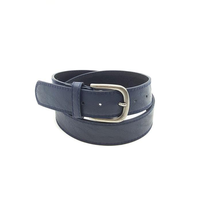 Chunky Navy Belt