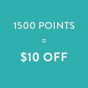 1500 points=$10 off
