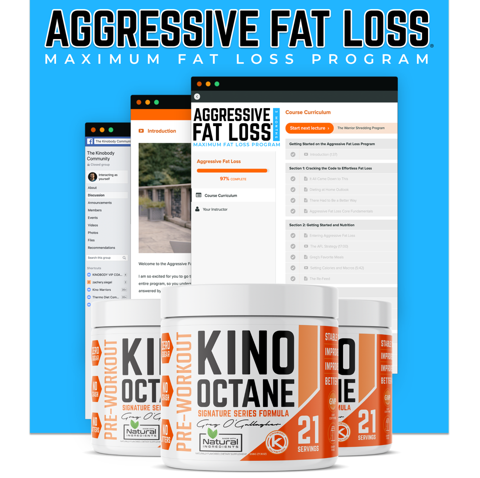 Aggressive Fat Loss Program and 3 Octane