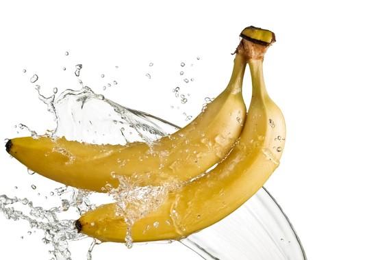 Bananen bestaan voor 75% uit water.