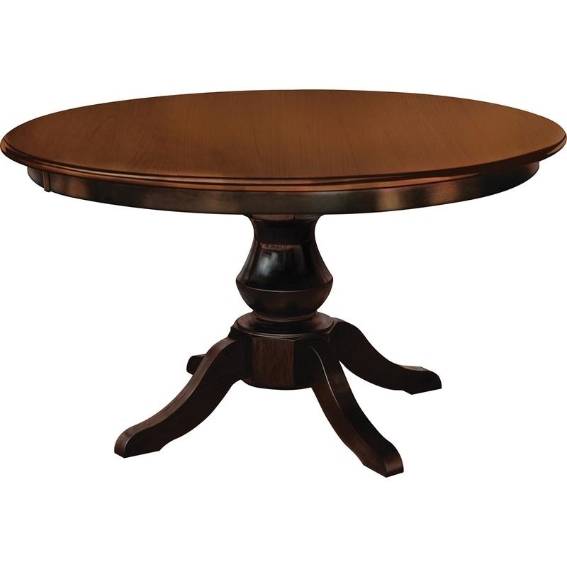 Barnes Round Maple Dining Table