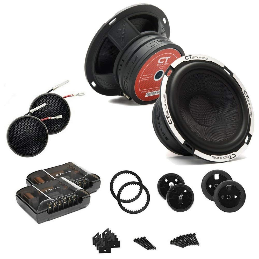 Meso 6.5 Inch Component Speakers by CT Sounds