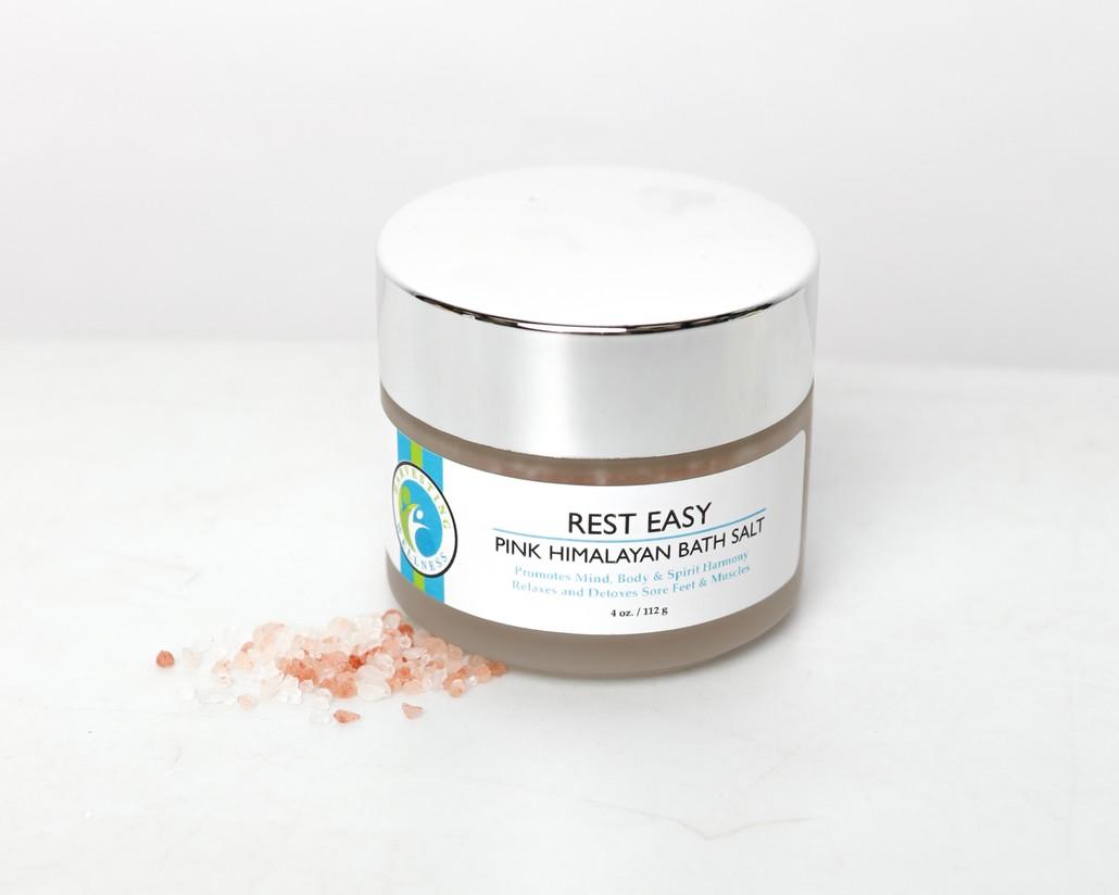 Rest Easy Pink Himalayan Bath Salts