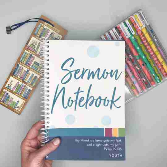 sermon notebook bundle