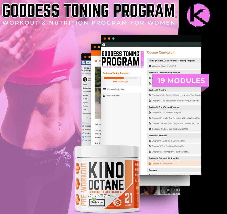 Goddess Toning Program with 1 Octane