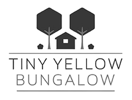 tiny yellow bungalow