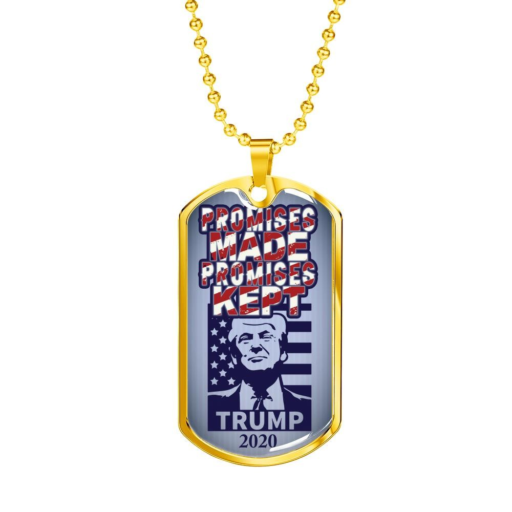 """""""Promises Made"""" Dog Tag"""