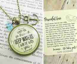 Faith Jewelry | She Is Clothed In Strength & Deep Waters Gutsy Goodness Bundle