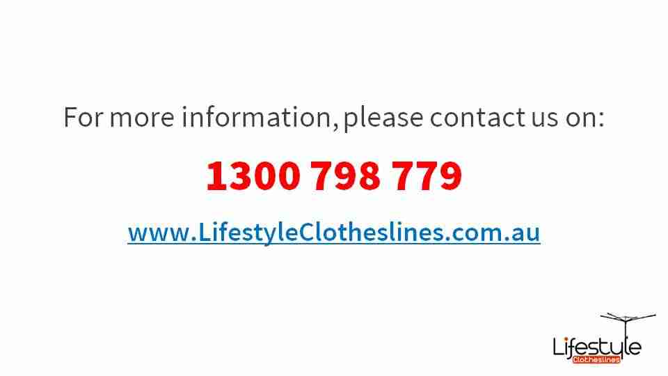 3300mm wide clothesline contact information