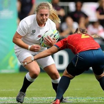 Heather Kerr English Rugby Player uses Massage Guns NZ