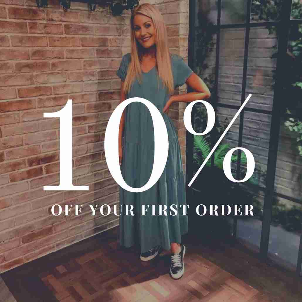 Get 10% Off Your First Online Order