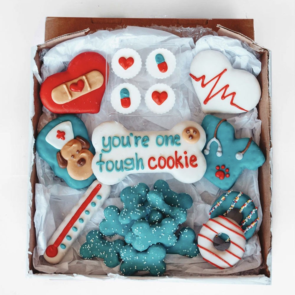Get Well Soon! Cookie Box