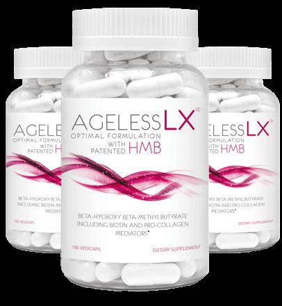 AgelessLX 3 Bottles