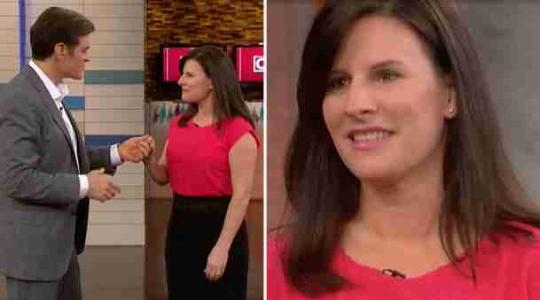 woman on Dr. Oz TV show