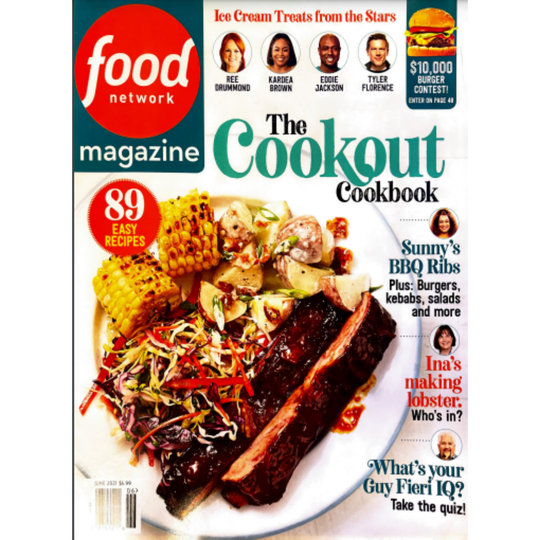 Food Network Magazine   Caire Beauty