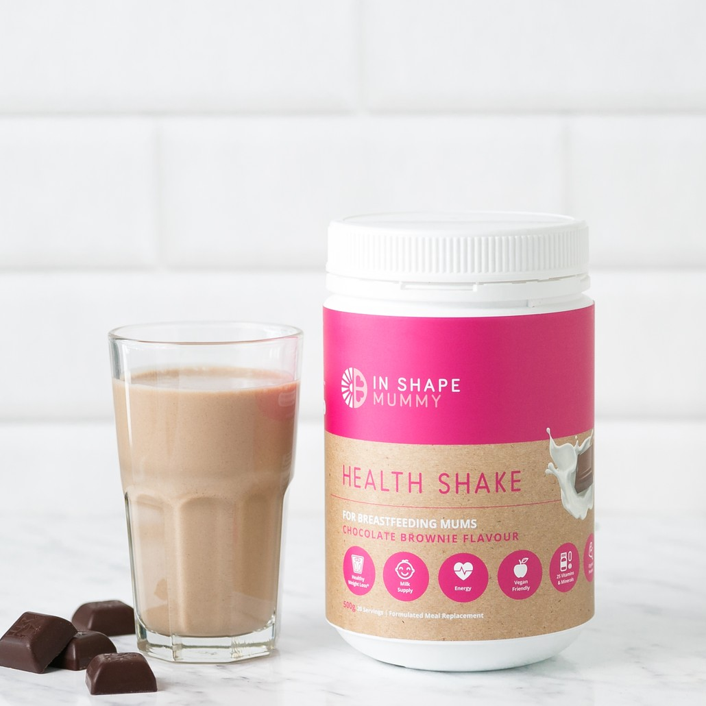 In Shape Mummy Breastfeeding Shake - Chocolate Afterpay