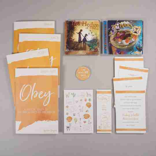 Obedience family Bible study bundle