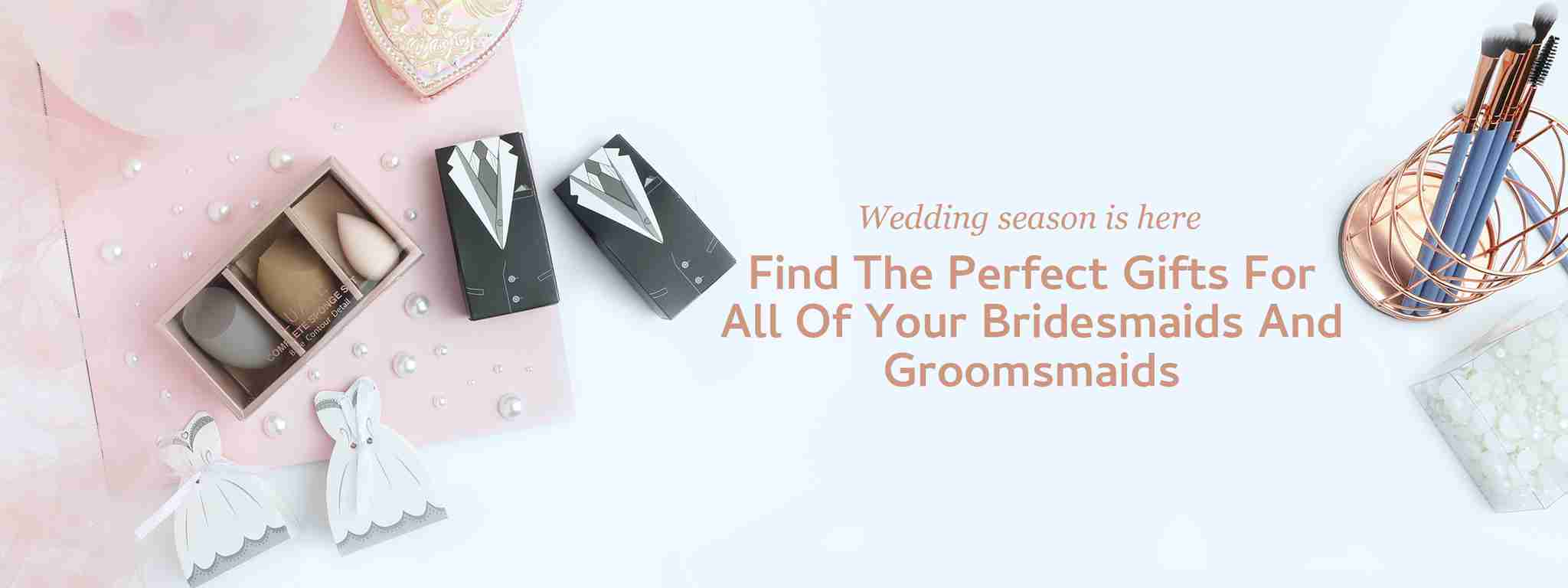 Wedding season is here, find the perfect gift for all of your bridesmaids and groomsmaids.