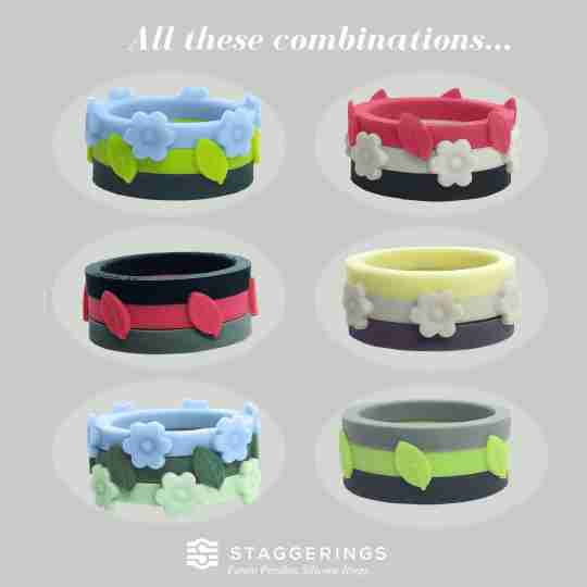 Six ring mix possibilities