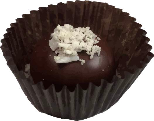 Chunky Chocolate Coconut Truffle