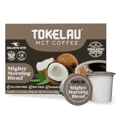 Keto Coffee k-cups - Mighty Morning Blend
