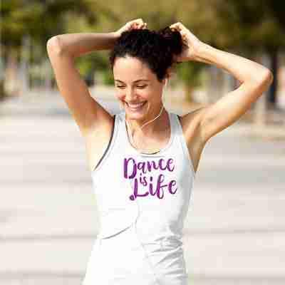 Dance Is Life Racerback Tank