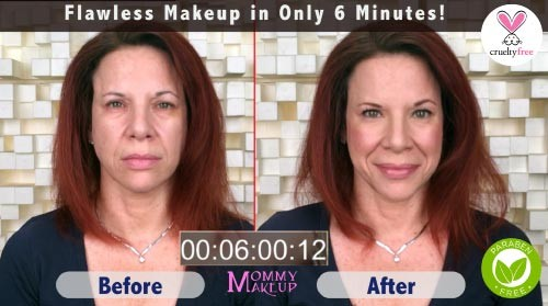 Flawless Makeup in 6 Minutes - Paraben-free, Talc-free, Mineral Makeup for Busy Women
